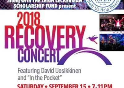 Recovery Concert 2018